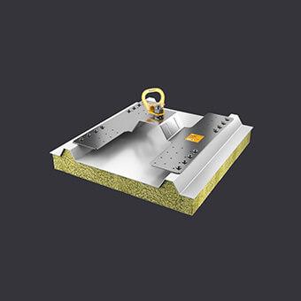Trax PW Sicherungspfosten -Schutz für drei Personen- Befestigung an Verbundplatte