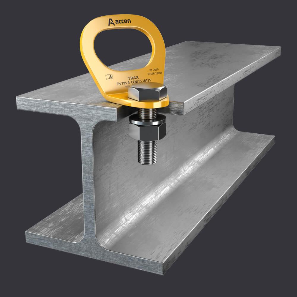 Accen Trax Light ST Verankerungspunkt - Sicherungssysteme für Stahlkonstruktionen