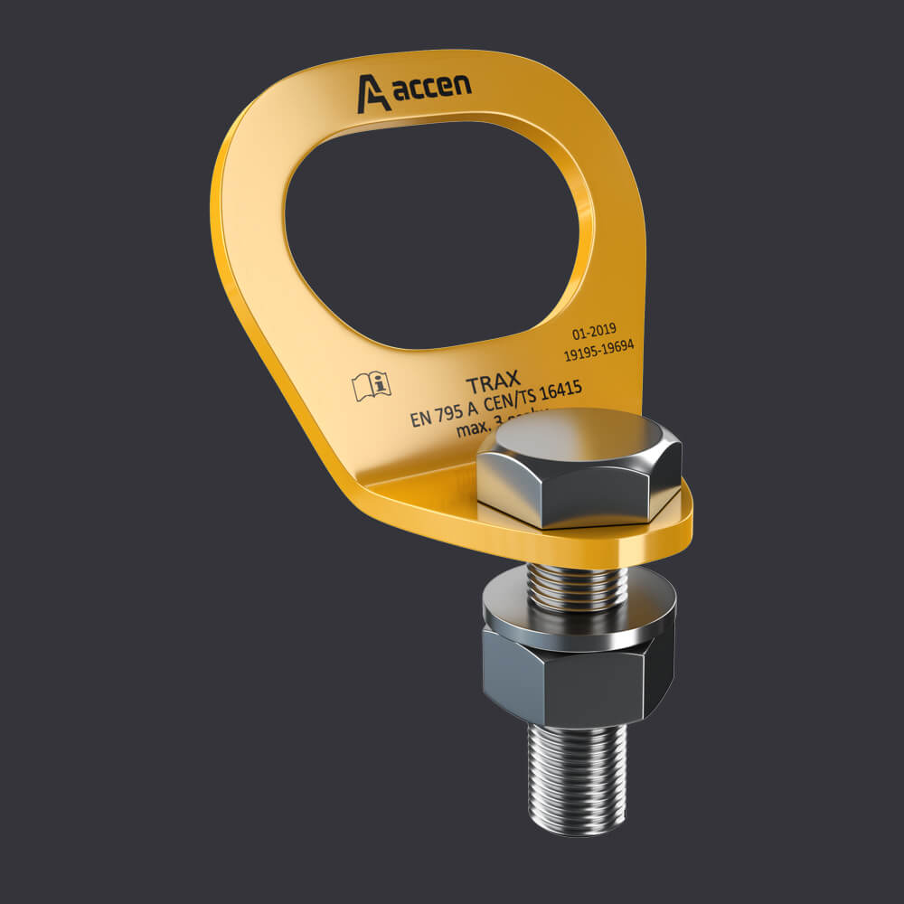Trax Light ST persönlicher Schutzsystem - Verankerungspunkte an Stahlkonstruktionen