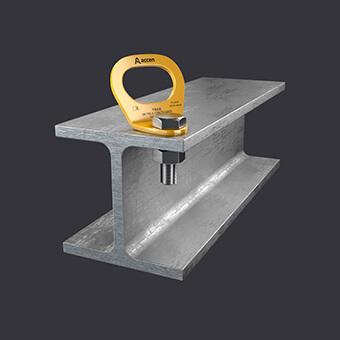 Trax Light ST Verankerungspunkt -Sicherungssysteme für eine Person- Befestigung an Stahlkonstruktionen