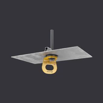 TRAX LIGHT TR Verankerungspunkt -Sicherungssysteme für eine Person- Montage an Trapezblechen