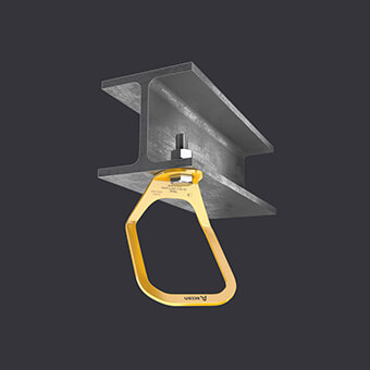Trax Light XL Verankerungspunkt - grosser Anschlagpunkt- Montage am Stahlbeton- und Stahluntergrund
