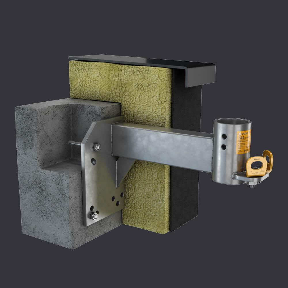 Accen FAS AT Fassadenzugangssysteme-  Attikabuchse