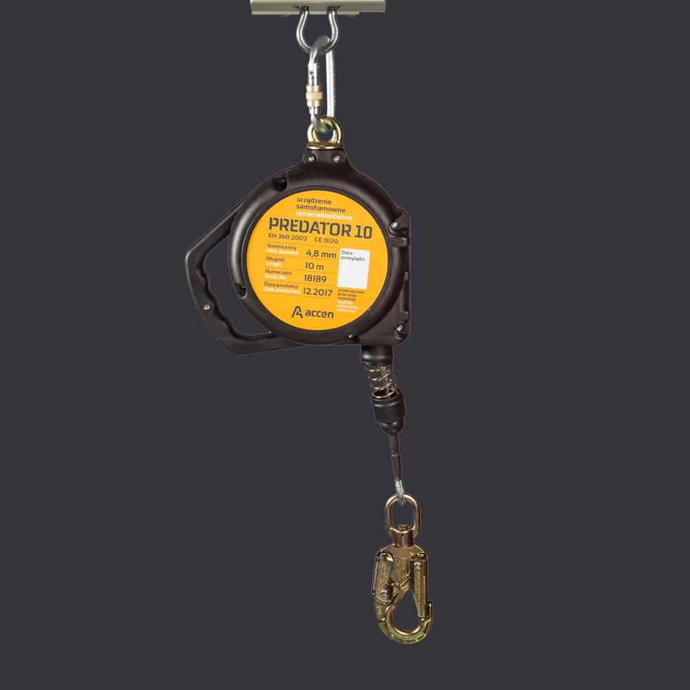 selbsthemmende Vorrichtung Predator 10 Accen- persönliche Schutzausrüstung ein einer Höhe von 10m